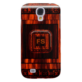 Engraved Wood iPhone3 Case