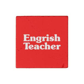 Engrish Teacher Stone Magnets