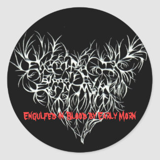 Engulfed (mastered)(1)(limited edition)peg, Eng... Classic Round Sticker