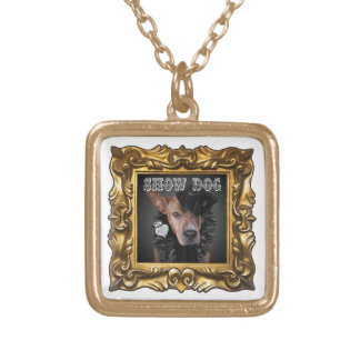 """Enhance Any Outfit with """"Show Dog"""" Pittie Necklace"""