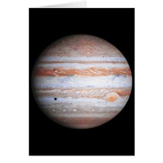 ENHANCED image of Jupiter Cassini flyby NASA Card