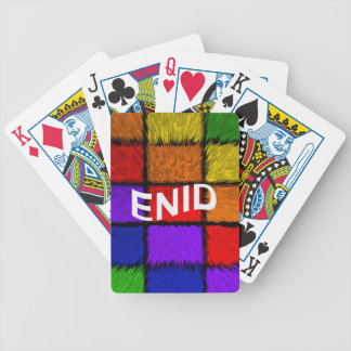ENID BICYCLE PLAYING CARDS