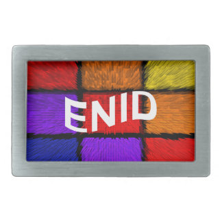 ENID RECTANGULAR BELT BUCKLE