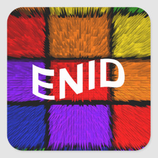 ENID SQUARE STICKER