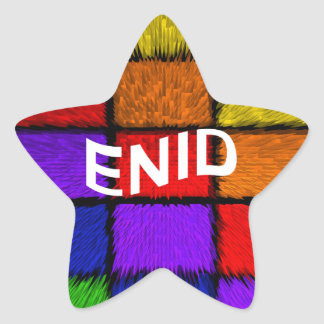 ENID STAR STICKER