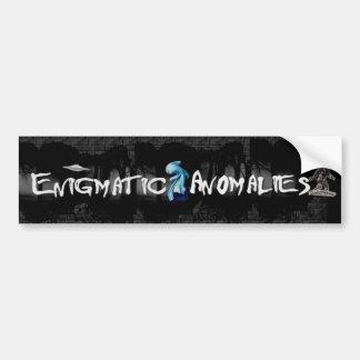 Enigmatic Anomalies Bumper Sticker
