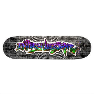 Enjoey Designs 03 ~ Wild Style Graffiti Art Deck Custom Skate Board
