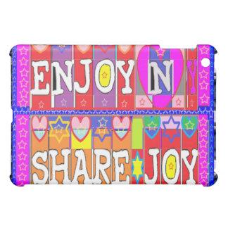 ENJOY and Share JOY iPad Mini Covers