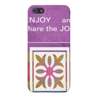 ENJOY and share the JOY - HAPPY Expressions iPhone 5 Case