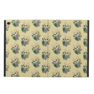 Enjoy Champagne with Frenchie at Your Celebration Powis iPad Air 2 Case