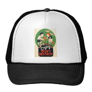 Enjoy, Don't Destroy Trucker Hat