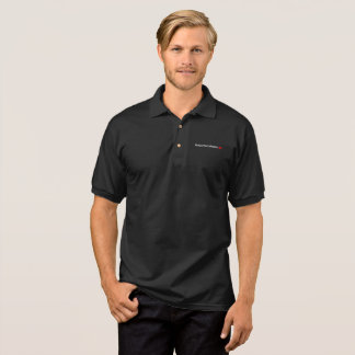 Enjoy Every Moment Typography Red Kiss Inspiration Polo Shirt