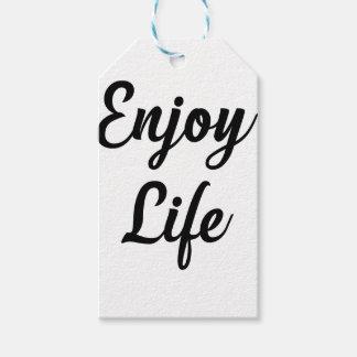 Enjoy Gift Tags