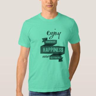 Enjoy homemade happiness, now gluten free tees
