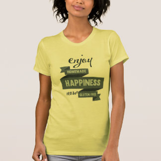 Enjoy homemade happiness, now gluten free shirts