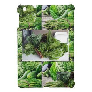 ENJOY LEAFY GREEN VEGETABLES HEALTHY CHOICES iPad MINI CASE