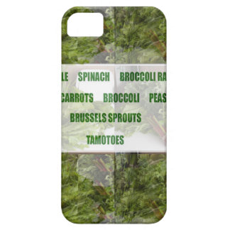 ENJOY LEAFY GREEN VEGETABLES HEALTHY CHOICES iPhone 5 COVERS