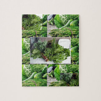 ENJOY LEAFY GREEN VEGETABLES HEALTHY CHOICES PUZZLES