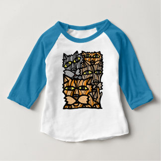 """Enjoy Life"" Baby 3/4 Raglan T-Shirt"