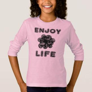 """Enjoy Life"" Girls' Long Sleeve T-Shirt"