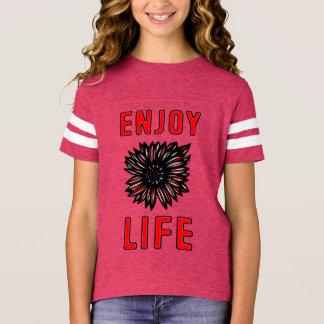 """Enjoy Life"" Girls' Sports Shirt"