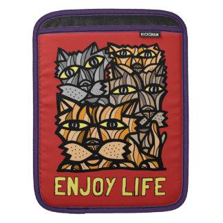 """""""Enjoy Life"""" iPad, iPad Mini, MacBook Air Sleeve"""
