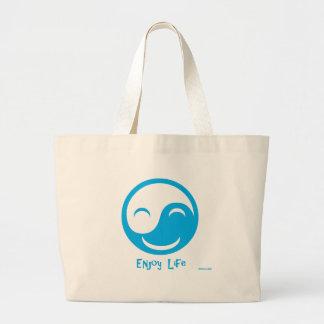 Enjoy Life Large Tote Bag
