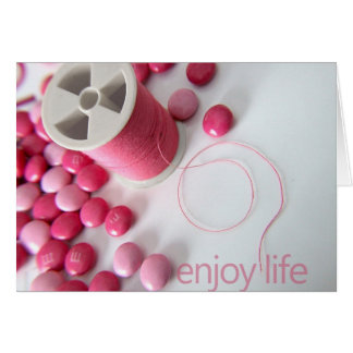 enjoy life notecard
