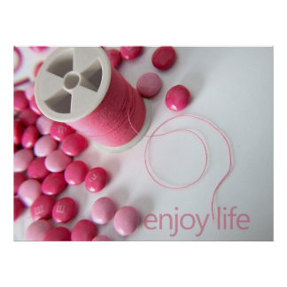 enjoy life poster