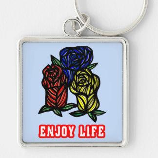 """Enjoy Life"" Premium Keychain"