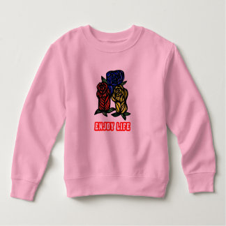 """Enjoy Life"" Toddler Fleece Sweatshirt"