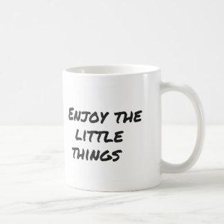 Enjoy little things Mug