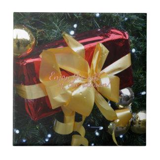 Enjoy the gift of the season! ceramic tile