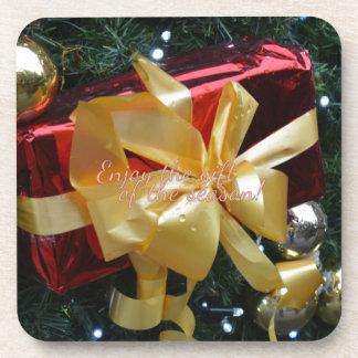 Enjoy the gift of the season! coaster