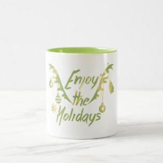 Enjoy the Holidays Mug | Aidensworld21