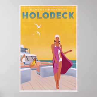Enjoy the Holodeck Poster