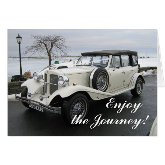 Enjoy the journey car card