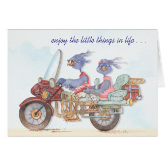 Enjoy the Little Things - Greeting Card