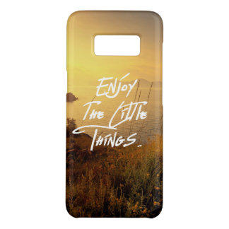 """Enjoy the little Things""  Quote Sunset Sea View Case-Mate Samsung Galaxy S8 Case"