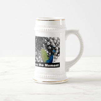 Enjoy the Moment 2 - Peacock Beer Stein