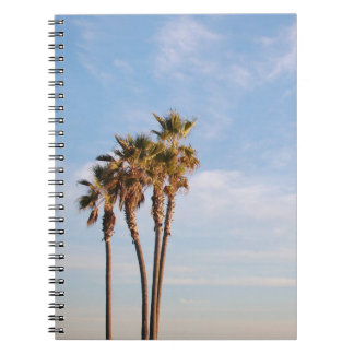 Enjoy the Palms | Skies the Limit Spiral Notebook