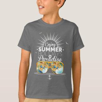 enjoy the summer holiday T-Shirt