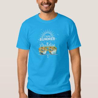 enjoy the summer holiday tshirts