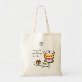 Enjoy the sweet things in life Tote Bag