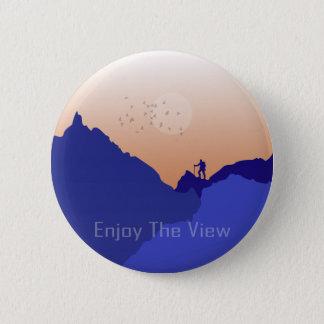 Enjoy the View 2 Inch Round Button