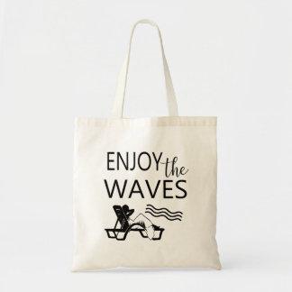 Enjoy the Waves Beach Summer Fun Tote