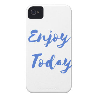 enjoy today iPhone 4 cover