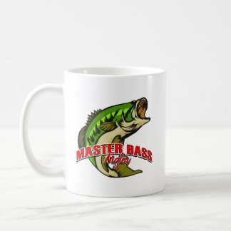 Enjoy your cup of coffee with Master Bass Angler