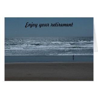 Enjoy your retirement card