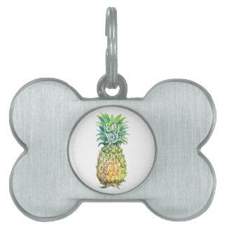 Enjoy your tropical summer holidays pet name tag